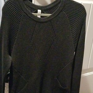 Authentic Lululemon Grey Sweater-so cute!